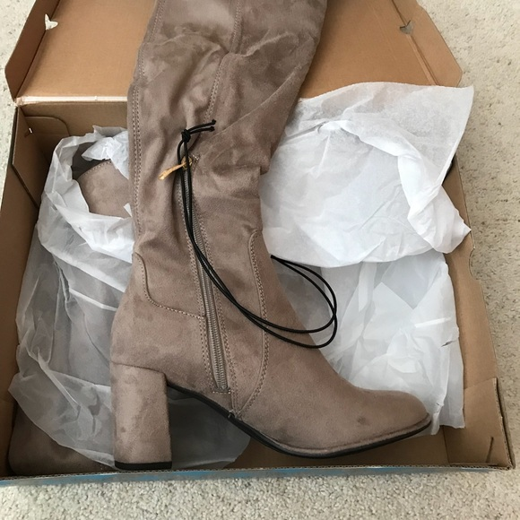 d1d67f1a9d8 Over the knee boots. Brand new. NWT. Liz Claiborne